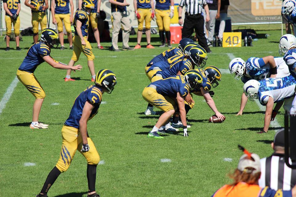 Junior Wolverines vs Blitz